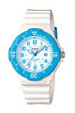 ขาย Casio Standard นาฬิกาข้อมือผู้หญิง สายเรซิ่น รุ่น Lrw 200H 2Bvdf สีขาว ฟ้า Casio