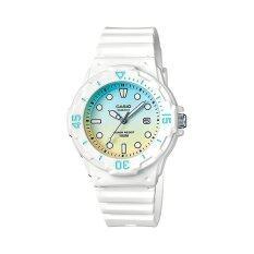 ซื้อ Casio Standard นาฬิกาข้อมือผู้หญิง สายเรซิ่น รุ่น Lrw 200H 2E2Vdr Blue Yellow สมุทรปราการ