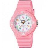 ราคา Casio Standard นาฬิกาข้อมือผู้หญิง สายเรซิ่น รุ่น Lrw 200H 4B2 สีชมพู เป็นต้นฉบับ Casio