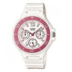 ซื้อ Casio Standard นาฬิกาข้อมือผู้หญิง สายเรซิ่น รุ่น Rw 250H 4A ใน นนทบุรี