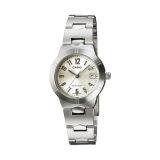 ราคา Casio Standard นาฬิกาข้อมือผู้หญิง สายสแตนเลส รุ่น Ltp 1241D 7A2Df Silver White ที่สุด