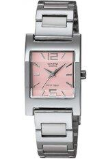 ส่วนลด Casio Standard นาฬิกาข้อมือผู้หญิง สายสแตนเลส รุ่น Ltp 1283D 4Adf สีเงิน ชมพู นนทบุรี