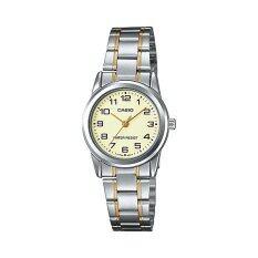 ซื้อ Casio Standard นาฬิกาข้อมือผู้หญิง สายสแตนเลส รุ่น Ltp V001Sg 9Budf Silver ออนไลน์ ถูก