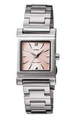 ราคา Casio Standard นาฬิกาข้อมือผู้หญิง สายสแตนเลส รุ่น Ltp1237D 4 สีเงิน ชมพู ออนไลน์ นนทบุรี