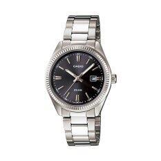 โปรโมชั่น Casio Standard นาฬิกาข้อมือผู้หญิง สีเงิน สายสแตนเลส Ltp 1302D 1A1 Casio ใหม่ล่าสุด