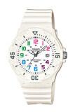 Casio Standard นาฬิกาข้อมือผู้หญิง สีขาว สายเรซิ่น รุ่น Lrw 200H 7Bvdf สมุทรปราการ
