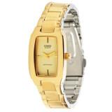 ทบทวน ที่สุด Casio Standard นาฬิกาข้อมือผู้หญิง สีทอง สายสเเตนเลส รุ่น Ltp 1165N 9Crdf