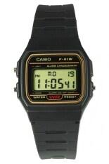 ขาย Casio Standard นาฬิกาข้อมือ ระบบดิจิตอล สีดำ สายเรซิ่น รุ่น F 91Wg 9 ราคาถูกที่สุด
