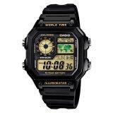 ซื้อ Casio Standard นาฬิกาข้อมือ รุ่น Ae 1200Wh 1B Black ใน สมุทรปราการ