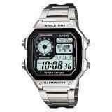 ราคา Casio Standard นาฬิกาข้อมือ รุ่น Ae 1200Whd 1A ใหม่