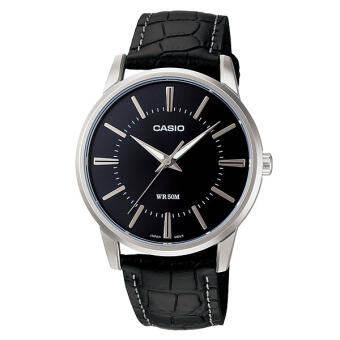 Casio Standard นาฬิกาข้อมือ รุ่น MTP-1303L-1A - Black-