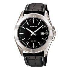 ขาย Casio Standard นาฬิกาข้อมือ รุ่น Mtp 1308L 1A สีดำ ใหม่