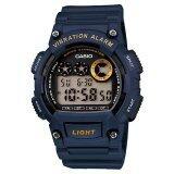 ซื้อ Casio Standard นาฬิกาข้อมือ รุ่น W 735H 2Avdf สีน้ำเงิน ออนไลน์