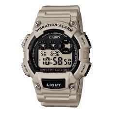 ทบทวน Casio Standard นาฬิกาข้อมือ รุ่น W 735H 8A2V Gray Casio Standard