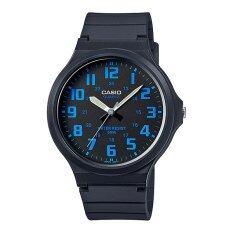 ราคา Casio Standard นาฬิกาข้อมือ สายเรซิน รุ่น Mw 240 2B Casio Standard