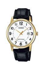 ขาย Casio Standard นาฬิกาข้อมือ สายหนัง รุ่น Mtp V002Gl 7Budf สีขาว ใหม่