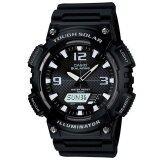 โปรโมชั่น Casio Standard นาฬิกาข้อมือ สีดำ สายเรซิ่น รุ่น Solar Power Sport Aq S810W 1Avdf ถูก