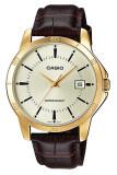 ความคิดเห็น Casio Standard นาฬิกาข้อมือสุภาพบุรุษ รุ่น Mtp V004Gl 9Audf สีน้ำตาล