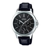 ขาย ซื้อ ออนไลน์ Casio Standard นาฬิกาข้อมือสุภาพบุรุษ รุ่น Mtp V300L 1Audf สายหนังสีดำ