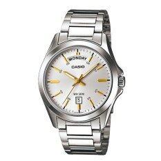 ขาย Casio Standard นาฬิกาข้อมือสุภาพบุรุษ สายสแตนเลส รุ่น Mtp 1370D 7A2Vdf Silver ออนไลน์ ใน พะเยา