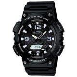 ขาย Casio Standard นาฬิกาข้อมือ Tough Solar รุ่น Aq S810W 1A Black ถูก