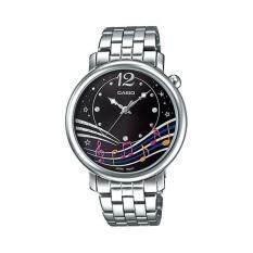 ขาย Casio Standard นาฬิกาผู้หญิง สายสแตนเลสส รุ่น Ltp E123D 1Adf Black ออนไลน์ Thailand