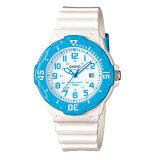 ราคา Casio Standard Sport Lady นาฬิกาข้อมือผู้หญิง White Blue สายเรซิ่น รุ่น Lrw 200H 2Bvdf ราคาถูกที่สุด
