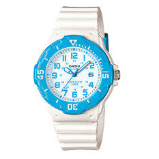 ขาย ซื้อ Casio Standard Sport Lady นาฬิกาข้อมือผู้หญิง White Blue สายเรซิ่น รุ่น Lrw 200H 2Bvdf