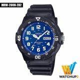 ทบทวน ที่สุด Casio Standard Watch นาฬิกาข้อมือ รุ่น Mrw 200H 2B2