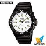 ราคา Casio Standard Watch นาฬิกาข้อมือ รุ่น Mrw 200H 7E สีดำ สงขลา