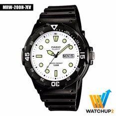 โปรโมชั่น Casio Standard Watch นาฬิกาข้อมือ รุ่น Mrw 200H 7E สีดำ ถูก