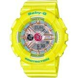 ซื้อ Casio Watch Baby G Yellow Resin Case Resin Strap Ladies Ba 110Ca 9A ถูก