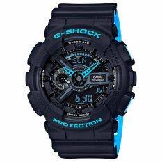 Casioนาฬิกาข้อมือG Shock Standard Ana Digi Ga 110Ln 1A Black เป็นต้นฉบับ