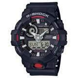 Casioนาฬิกาข้อมือG Shock Standard Ana Digi Ga 700 1A Black เป็นต้นฉบับ