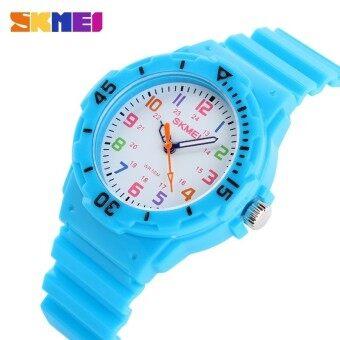 นาฬิกาแบรนด์เนมนาฬิกาแฟชั่นเด็ก Casual นาฬิกาข้อมือ 50 เมตรนาฬิกาข้อมือควอตซ์กันน้ำเด็กวุ้นนาฬิกาเด็กนักเรียนหญิงชั่วโมง 1043