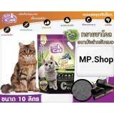 ราคา Charcoal Sand Super Premium ทรายชาโคล อนามัย สำหรับแมว สูตรซุปเปอร์พรีเมี่ยม ขนาด 10ลิตร X 1ถุง Bokdok เป็นต้นฉบับ