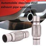 ราคา Cenita 2 5 Inches Cars Auto Stainless Steel Exhaust Flex Pipe Double Braid Silver Intl ออนไลน์ จีน