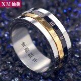 ขาย แหวนผู้ชายแหวนไทเทเนียมเหล็กหมุน Unbranded Generic ผู้ค้าส่ง