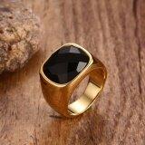ราคา แหวนยุโรปและอเมริกาแหวนทองของผู้ชายอาเกต Unbranded Generic ออนไลน์