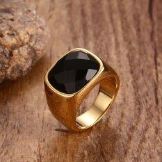 ซื้อ แหวนยุโรปและอเมริกาแหวนทองของผู้ชายอาเกต ใน ฮ่องกง