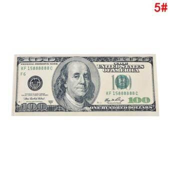 เก๋ไม่จำกัดเพศผู้ชายผู้หญิงสกุลเงินสกุลเงินดอลลาร์กระเป๋าสตางค์ดอลลาร์เก่า 100 - นานาชาติ