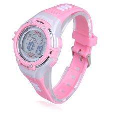 ขาย ซื้อ นาฬิกาข้อมือดิจิตอลเด็ก 30แผ่นกันน้ำสีชมพู ใน จีน