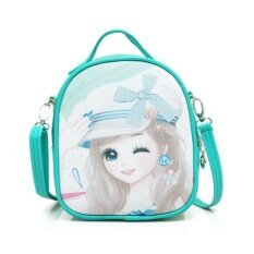 ซื้อ Children Shoulder Bag Girls Travel Bag Mini Kindergarten Cartoon Cute Baby G*rl Backpack 17×9×20Cm Intl ใหม่ล่าสุด