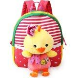 Children S Sch**l Bags For Boys And Girls In Kindergarten Kids 1 3 Years Baby Bag Cute Backpack Red Ch*ck จีน
