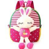 ซื้อ Children S Sch**l Bags For Boys And Girls In Kindergarten Kids 1 3 Years Baby Bag Cute Backpack Red Rabbit ถูก