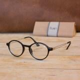 ซื้อ Chinta แว่นชินตา แว่นวินเทจ ทรงกลมรี กรอบสีดำ เลนส์ใส ใหม่