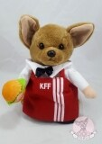 โปรโมชั่น ชุดพนักงานขายไก่ทอดSize 5 ชุดแฟนซีสำหรับสุนัข แมว แบบมีแขนหลอก สีแดง Unbranded Generic ใหม่ล่าสุด