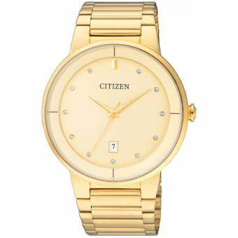 Citizen Analog Gold Dial นาฬิกาชาย - BI5012-53P