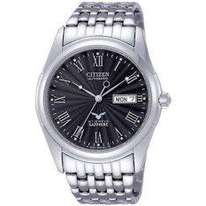 ราคา Citizen นาฬิกาผู้ชาย Automatic Classic Sapphire Nh8240 57E Citizen เป็นต้นฉบับ