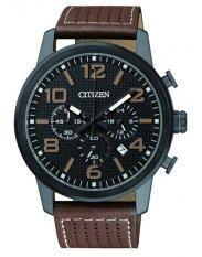 ขาย Citizen นาฬิกาผู้ชาย Chronograph An8055 06E สายหนัง
